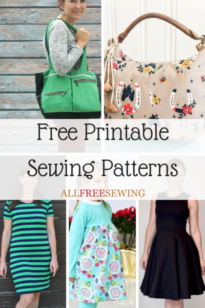 45 Free Printable Sewing Patterns | AllFreeSewing.com