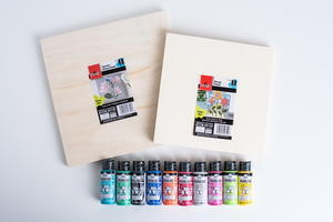 Plaid Paints and Wooden Panels Giveaway
