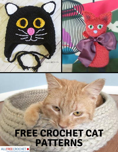44 Free Crochet Cat Patterns Allfreecrochet