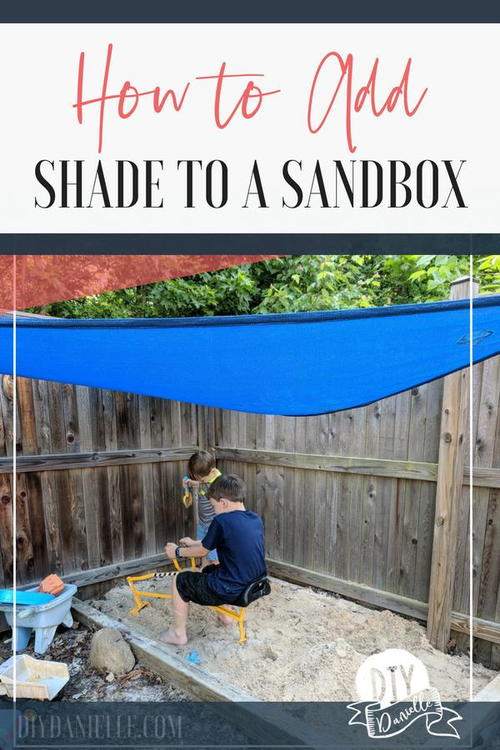 DIY Sandbox Canopy