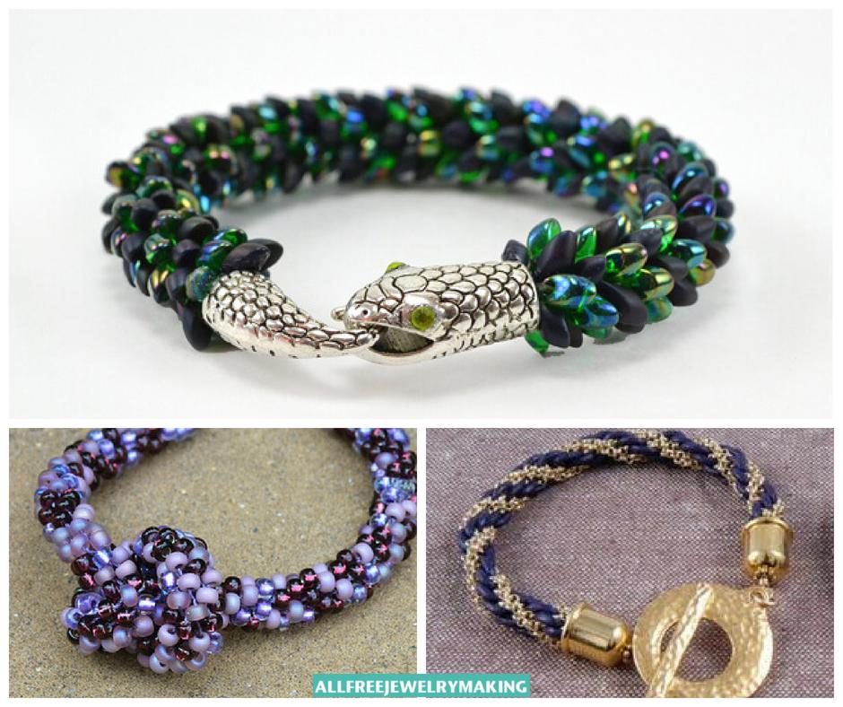 25+ Kumihimo Jewelry Patterns and Tutorials | AllFreeJewelryMaking.com