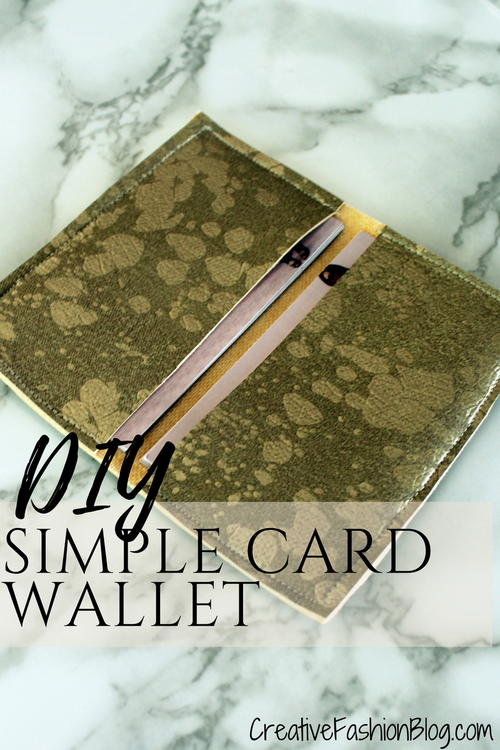 Easy diy business card wallet tutorial allfreesewing easy diy business card wallet tutorial reheart Image collections