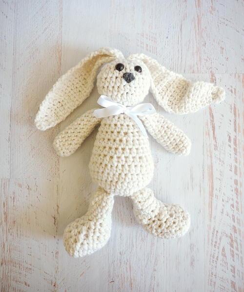 Snuggle Bunny Crochet Pattern Allfreecrochet