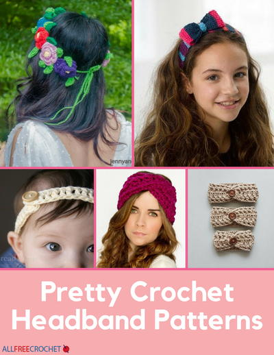 40 Crochet Headband Patterns AllFreeCrochet Fascinating Hair Crochet Patterns