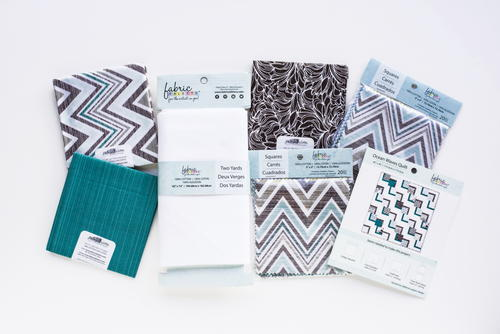 Ocean Waves Quilt Kit Favequilts