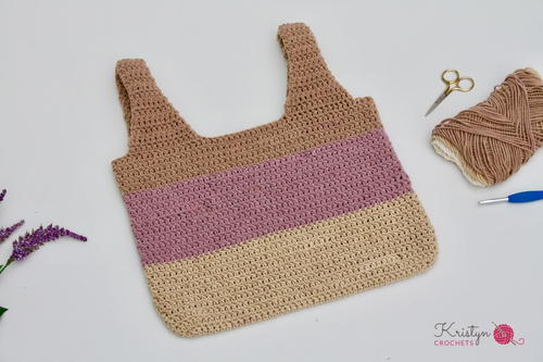 Re-Usable Crochet Grocery Bag