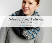 40+ Infinity Scarf Patterns You'll Love