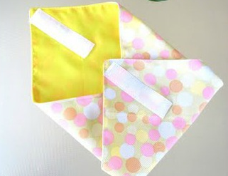 15 Minute Fabric Lunch Wrap