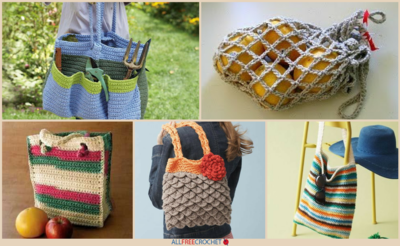 23 Fantastic Free Crochet Bag Patterns
