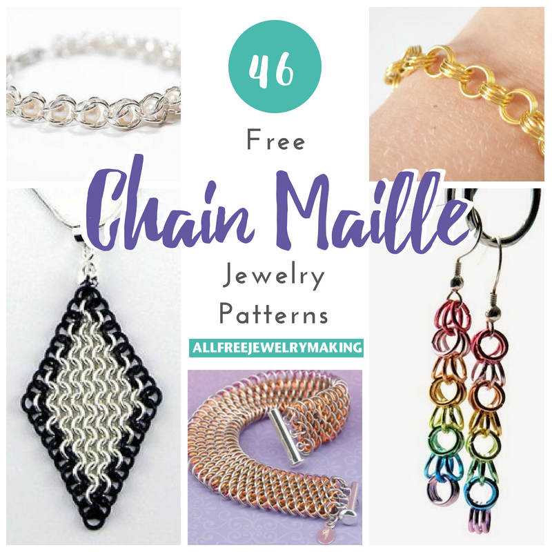 46 Free Chain Maille Jewelry Patterns | AllFreeJewelryMaking.com