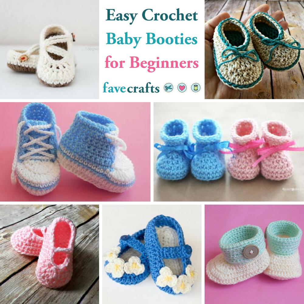 How to crochet booties for beginners