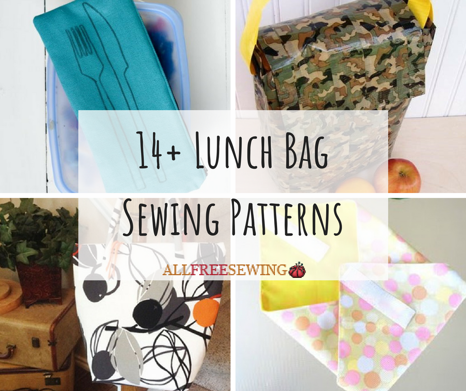 14+ Lunch Bag Sewing Patterns | AllFreeSewing.com