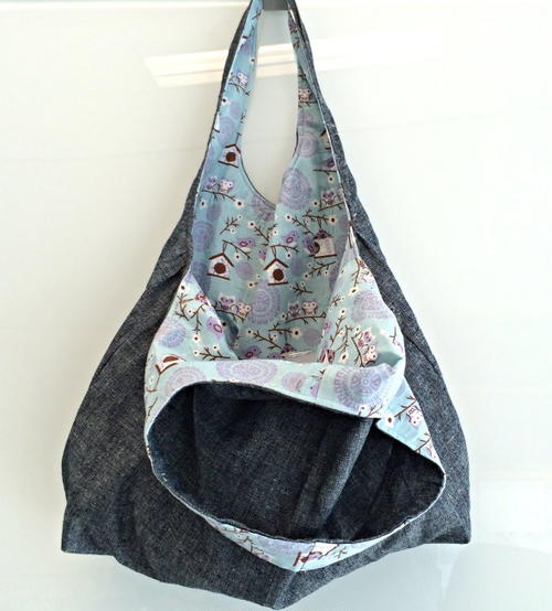 Remona's Reversible Hobo Bag