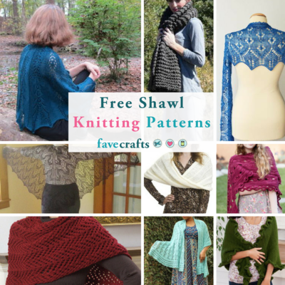 29 Free Shawl Knitting Patterns Favecrafts