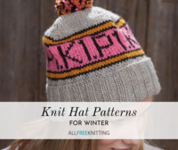 66+ Knit Hat Patterns for Winter