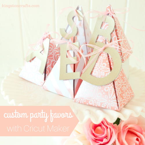 Foil Embossed Custom Party Favors