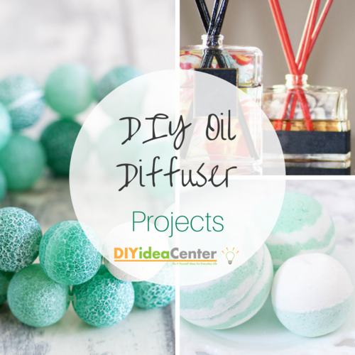 DIY Oil Diffuser Projects