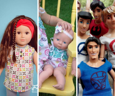 35 Free Doll Clothes Patterns And Diy Accessories Allfreesewingcom