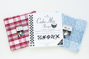 Oxford Print Fabric and Cake Mix Bundle Giveaway