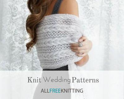 21 Knit Wedding Patterns Allfreeknitting