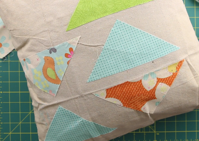 No Sew Pillow Cover Video