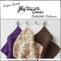 13 Super Sweet Sugar'n Cream Dishcloth Patterns