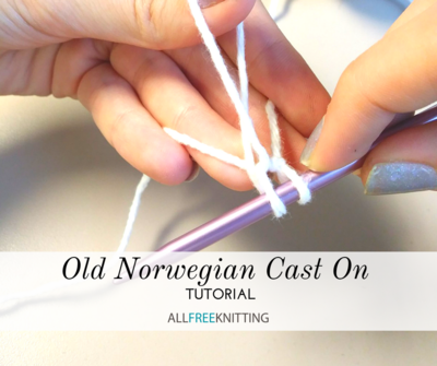 Old Norwegian Cast On Tutorial