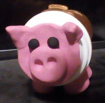 Pill Bottle Piggy Bank