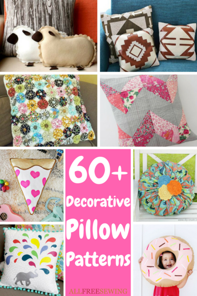 40 Decorative Pillow Patterns