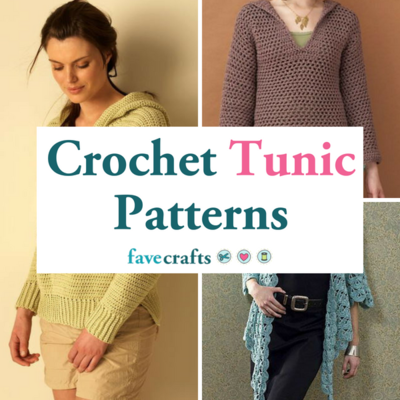 11 Crochet Tunic Patterns Favecrafts