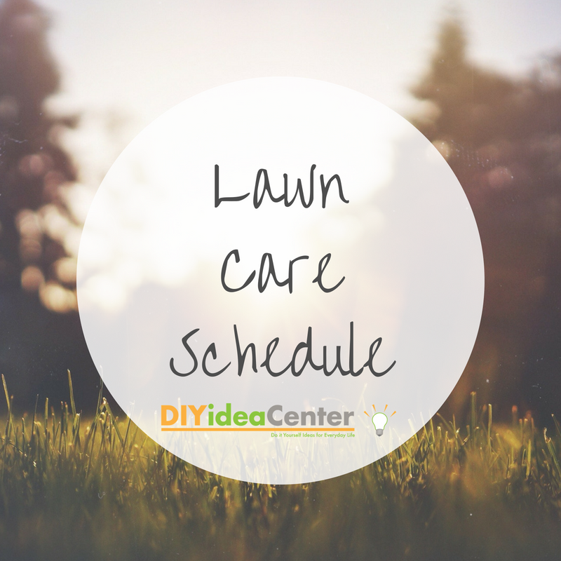 Lawn care schedule diyideacenter solutioingenieria Gallery