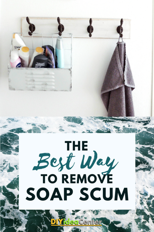 The Best Way to Remove Soap Scum