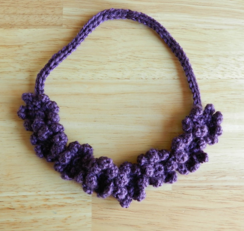 Crochet Flower Necklace Tutorial Allfreecrochet