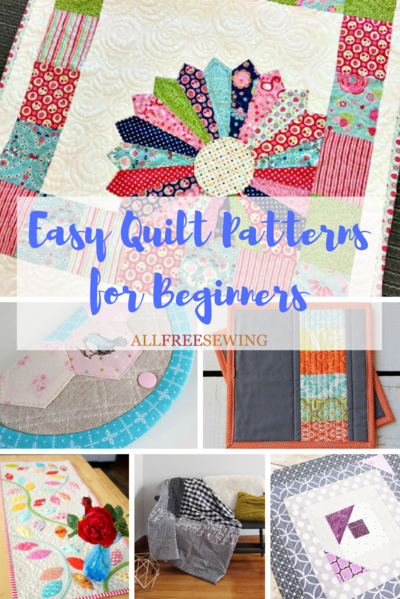 45 Easy Quilt Patterns For Beginners Allfreesewing