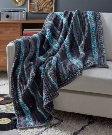 Starry Nights Throw Pattern