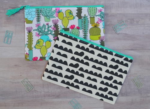 Back to School Zipper Pouch Pattern