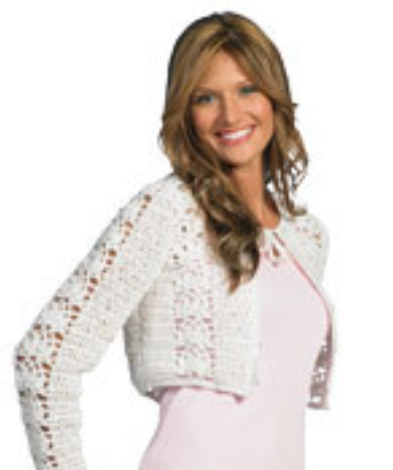 Crochet Short Jacket