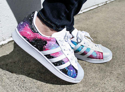 Galaxy Tennis Shoes