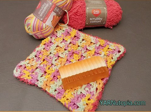 Dual Sided Crochet Washcloth Pattern Allfreecrochet