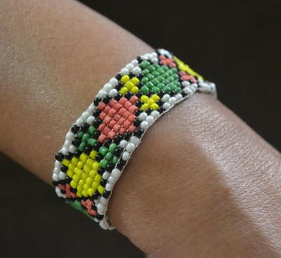 DIY Bead Loom and Seed Bead Loom Bracelet