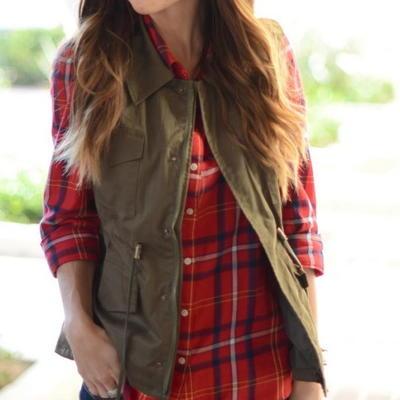 Make a Vest: 13+ Free Vest Sewing Patterns | AllFreeSewing.com
