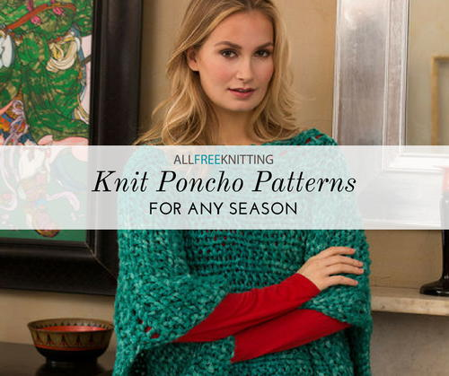 Knit Poncho Patterns