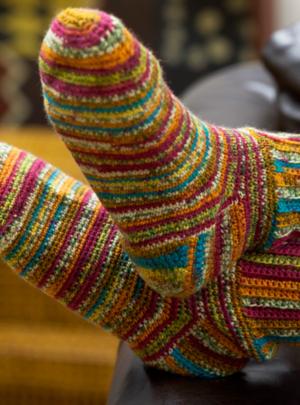 32 Free Crochet Sock Patterns | AllFreeCrochet.com
