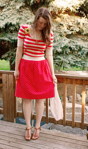 Little Darling DIY Skirt