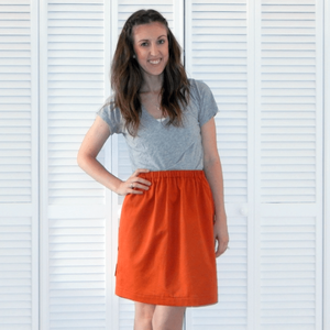 Super Simple DIY Skirt
