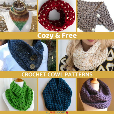 18 Cozy Free Crochet Cowl Patterns Allfreecrochet