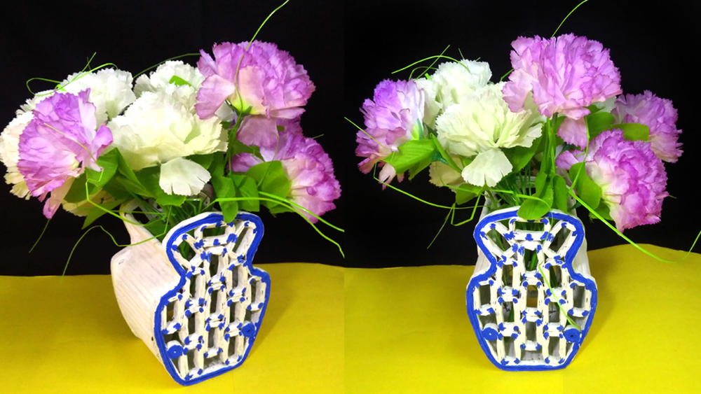 Newspaper flower vase favecrafts mightylinksfo