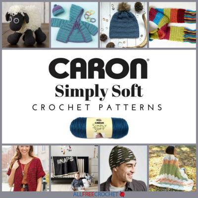 24 Caron Simply Soft Crochet Patterns Allfreecrochet