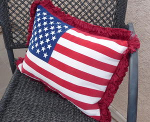 Quick Burst of Patriotism Pillows