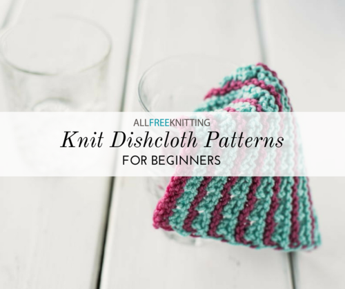 Knit Dishcloth Patterns for Beginners